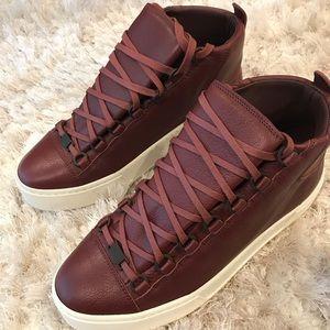 Balenciaga arena high top - thick sole sneaker